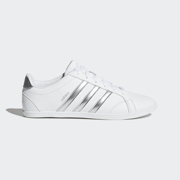 Adidas Tennis Coneo QT Schuh Tennisschuhe Damen weiß pink