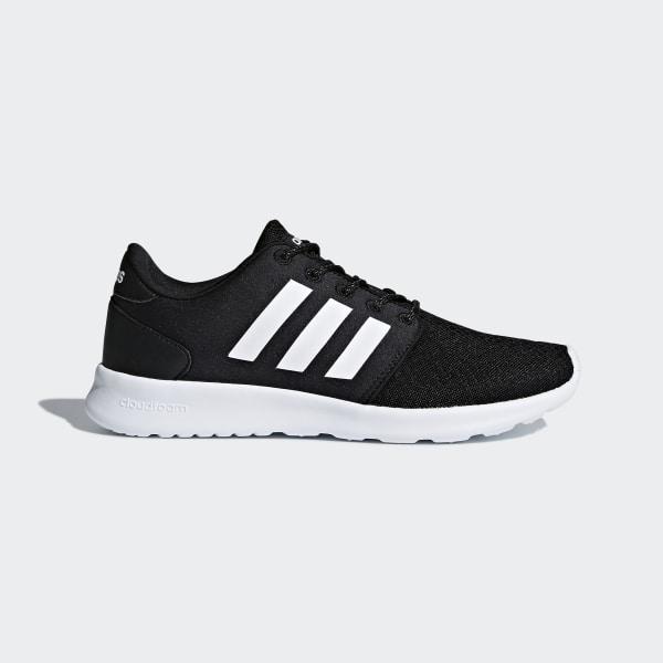 outlet store 9a3b2 e9cdf adidas Cloudfoam QT Racer Shoes - Black | adidas UK