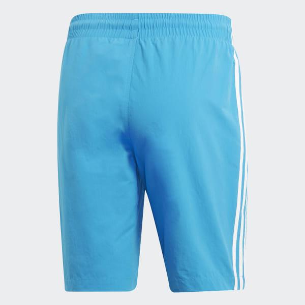 4566ce2dcdc4d adidas 3-Stripes Swim Shorts - Blue | adidas US