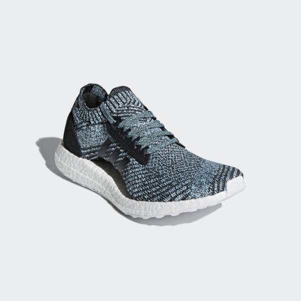 the best attitude 6a50d 0f0f2 Ultraboost X Parley Shoes Carbon   Carbon   Blue Spirit DB0641