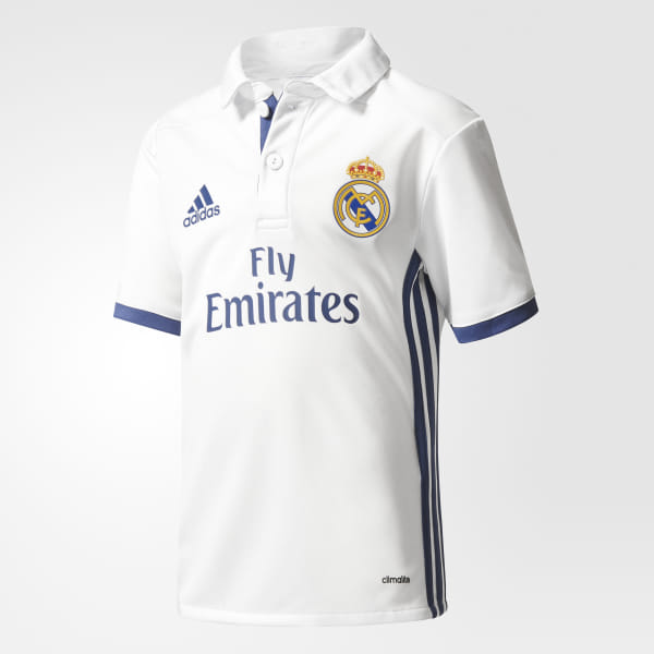 51f2d6e014 Jersey Local Real Madrid 2016/2017 Bebes CRYSTAL WHITE/ WHITE/COLLEGIATE  GREEN AI5192