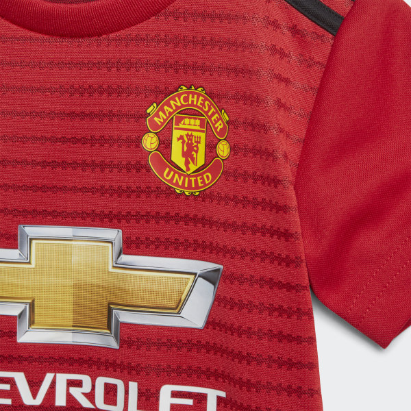 bc4207ab612 adidas Manchester United Home Infant Kit - Red | adidas Ireland