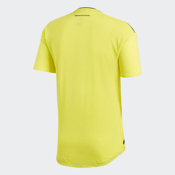 7154db18a0b Colombia Home Authentic Jersey Bright Yellow   Collegiate Navy BR3502