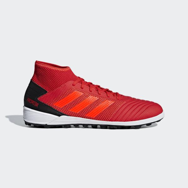 07881c27 Predator Tango 19.3 Turf fotballsko Active Red / Solar Red / Core Black  D97962