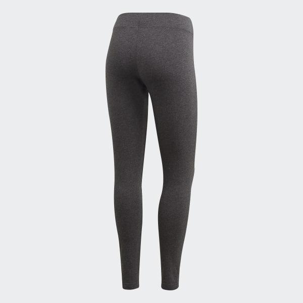 0572f4a097f Essentials Linear Leggings Dark Grey Heather   True Pink DU0677