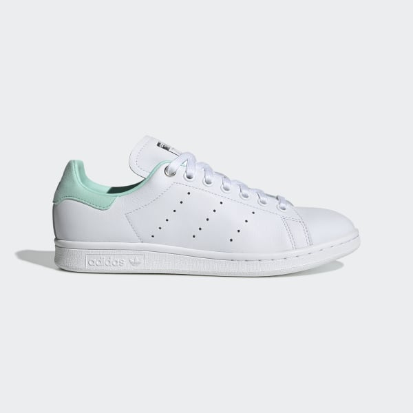 3eea0d34425e0 Chaussure Stan Smith Ftwr White   Silver Met.   Clear Mint G27908