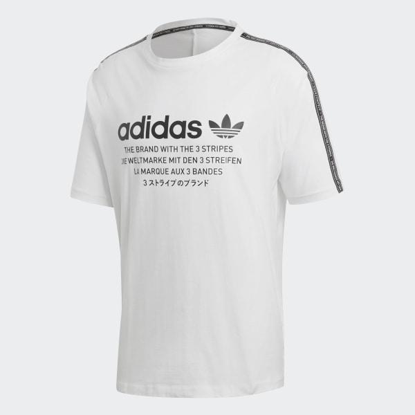 adidas Originals T Shirt NMD D Tee White