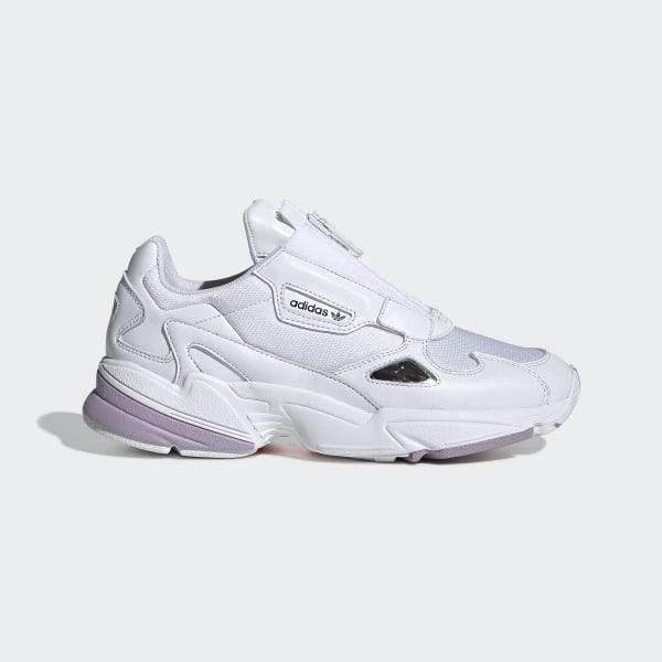 adidas Falcon Zip Shoes - White | adidas US