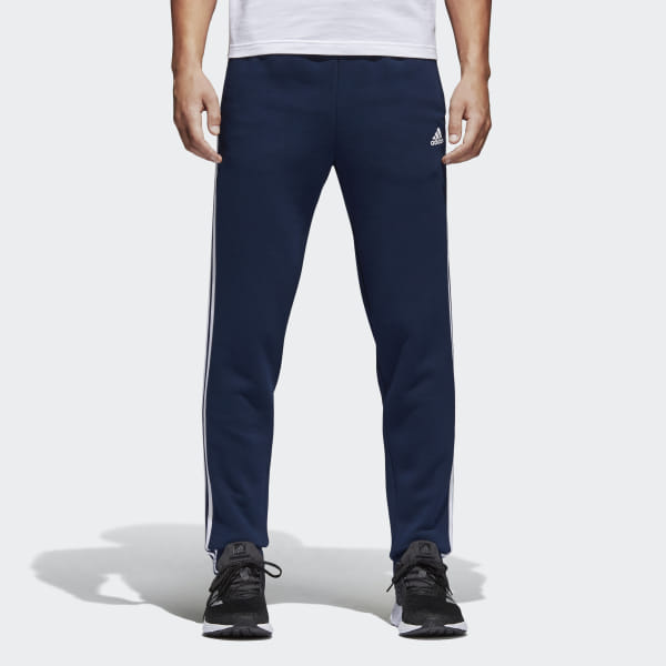 059637a1 Флисовые брюки Essentials 3-Stripes collegiate navy / white BK7423