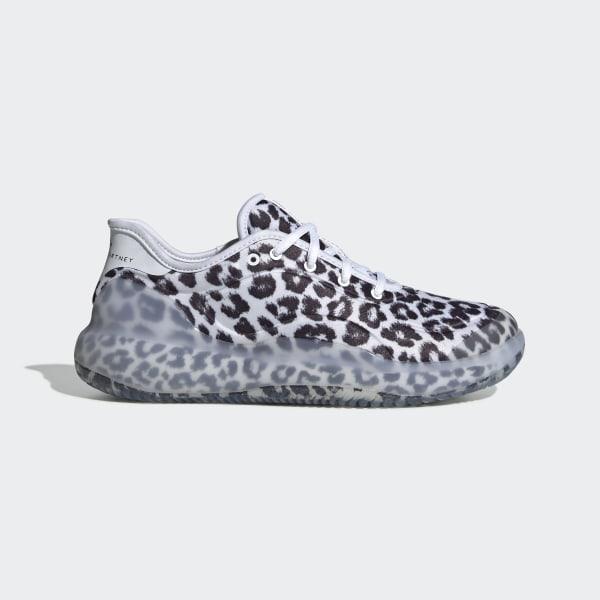 49b648b34 adidas by Stella McCartney Court Boost Shoes Beige / White / Weiss-Schwarz  F33803