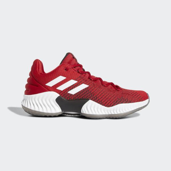 adidas Pro Bounce 2018 Low Schoenen rood | adidas Belgium