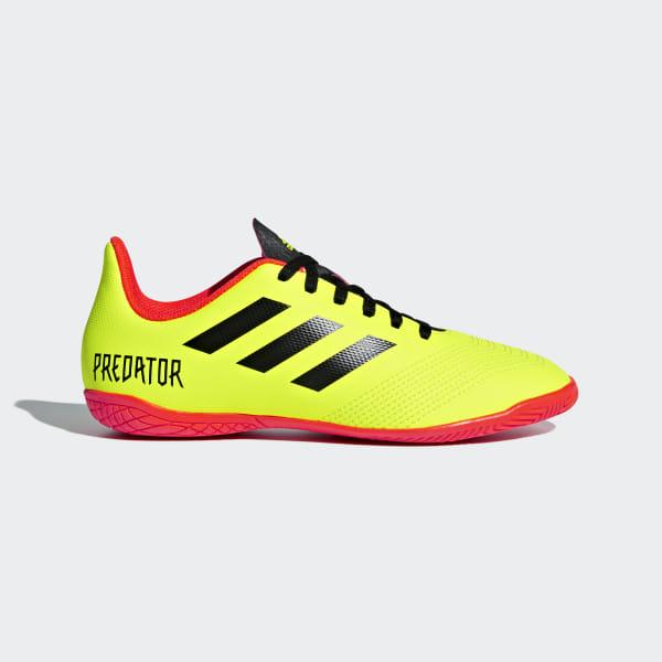 b598c0a79ceb7 Chuteira Predator Tango 18.4 Futsal SOLAR YELLOW/CORE BLACK/SOLAR RED DB2336