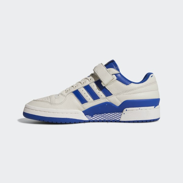 reputable site 70bfd c5e00 Forum Low Shoes Chalk White   Collegiate Royal   Gold Metallic BY3649