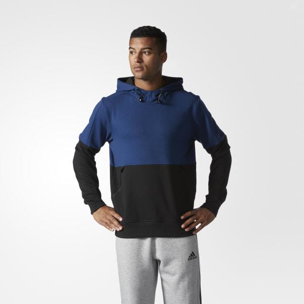 8b18c00203 adidas Sport ID French Terry Hoodie - Blue | adidas US