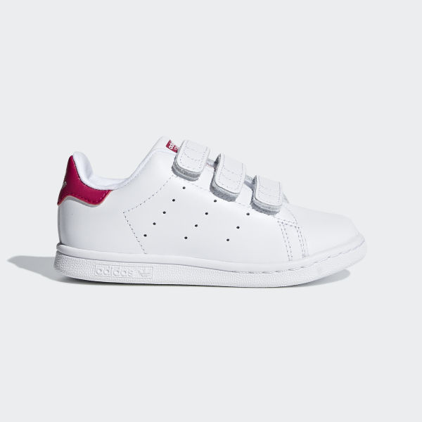 82279443 Stan Smith Shoes Footwear White / Footwear White / Bold Pink BZ0523