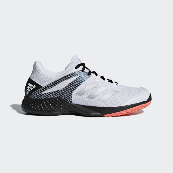 sports shoes 68cdc beb96 Adizero Club 2.0 Shoes Cloud White   Matte Silver   Core Black AH2108