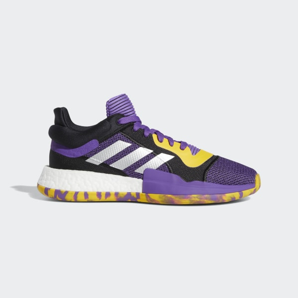 reputable site ce0e7 2d15d Marquee Boost Low Shoes Active Purple   Legend Purple   Bold Gold G27746