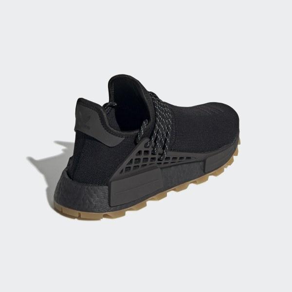 on sale e0e99 9e510 adidas Pharrell Williams Hu NMD Proud Shoes - Black | adidas UK