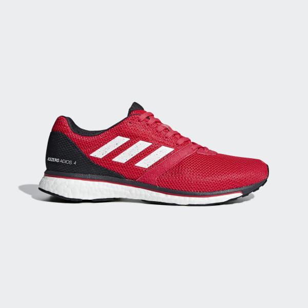 buy online 628c3 f8cb5 Adizero Adios 4 Shoes Active Pink   Cloud White   Carbon B37308