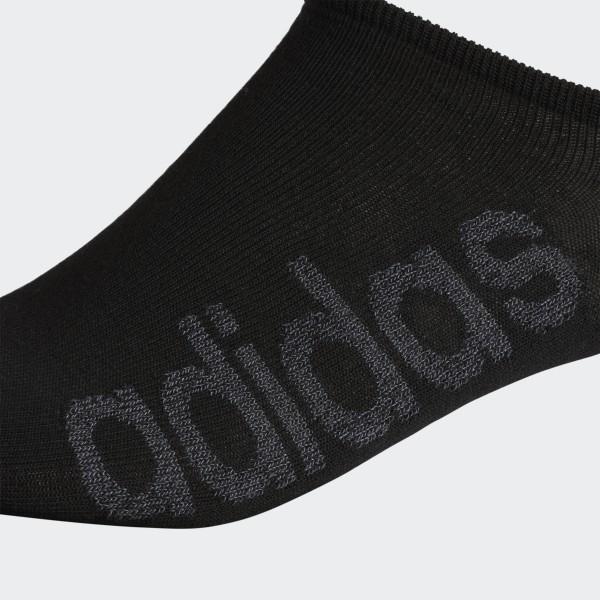 02fc10a739 adidas Superlite Linear No-Show Socks 6 Pairs - Black | adidas US