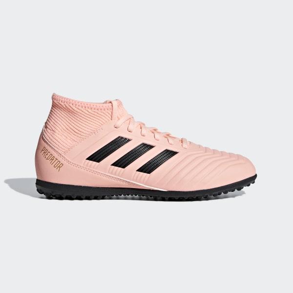 a3a9690808a Zapatilla de fútbol Predator Tango 18.3 moqueta Clear Orange / Core Black /  Trace Pink DB2331