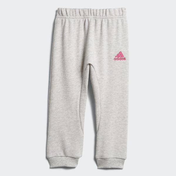 117e2efc7a30 Graphic French Terry Jogger Light Grey Heather   Real Magenta   White    Clear Mint DJ1584