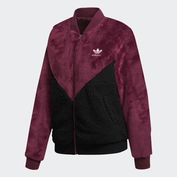 8a405d2b6e7 adidas CLRDO Track Jacket - Red   adidas US
