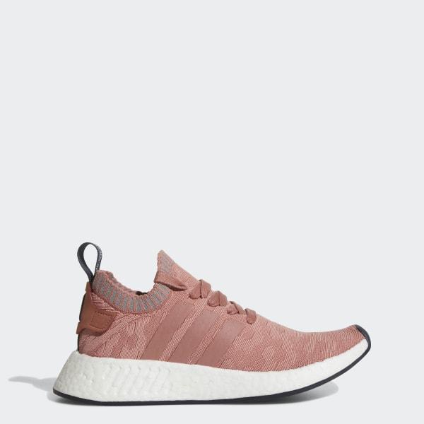 Adidas NMD_R2 Primeknit W raw pinkraw pinkgreythree ab