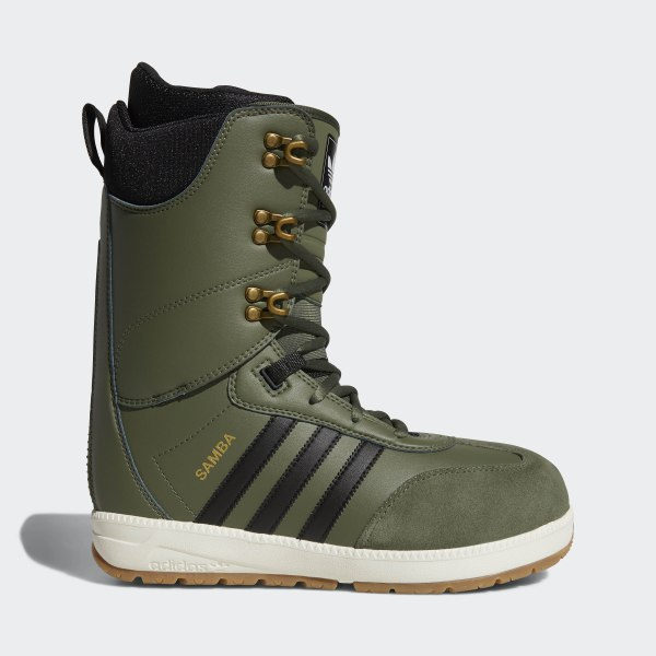 0eb782cfc7e adidas Samba ADV Boots - Green | adidas US