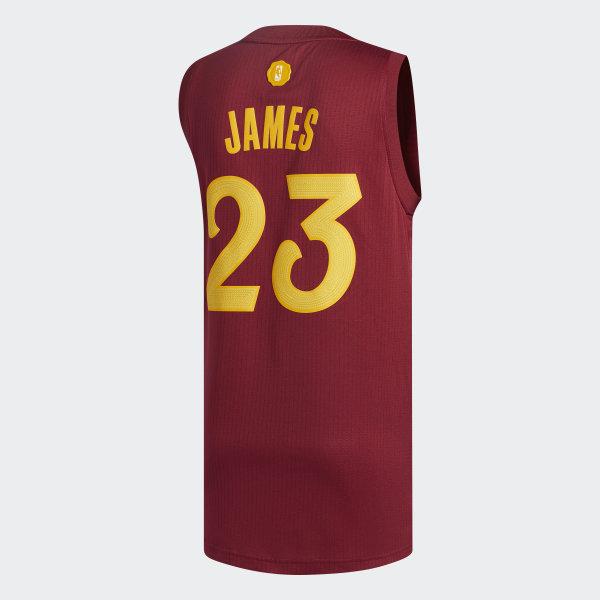 differently d9504 57f8b adidas Cavaliers Season's Greetings Swingman Jersey - Multicolor ...