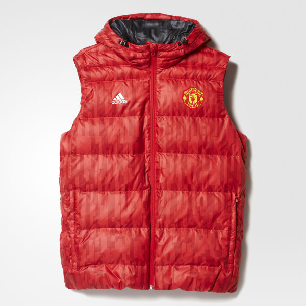 Manchester United FC Down Vest rouge adidas | adidas France