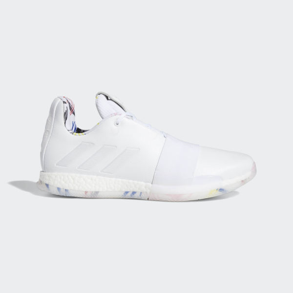 d65a689e04 Harden Vol. 3 Schuh Cloud White / Cloud White / Core Black G54022