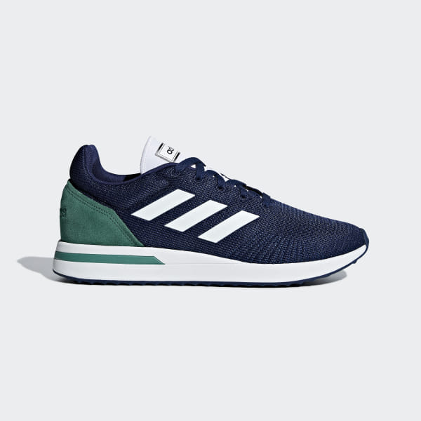 a7c6dad6 Tenis Run 70s Dark Blue / Ftwr White / Active Green CG6140