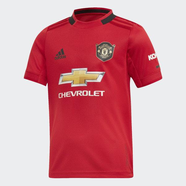 classic fit 06710 fefdd adidas Manchester United Home Mini Kit - Red | adidas Ireland