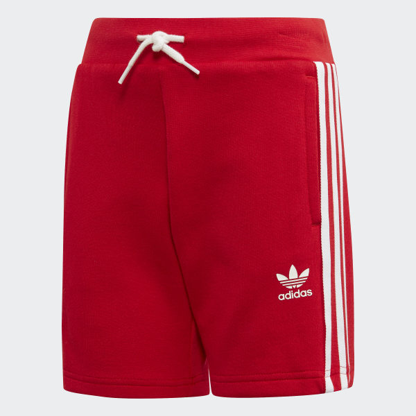f120dcc0bf6 adidas Trefoil Shorts Tee Set - Red | adidas Australia