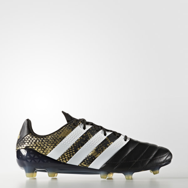 buy popular 61cb5 9d28c adidas ACE 16.1 Leather Firm Ground Boots - Black | adidas New Zealand