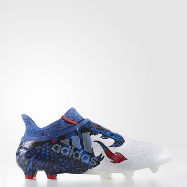 f923901f1 X 16+ Purechaos UCL Dragon Firm Ground Cleats Cloud White / Red / Blue  BY1838