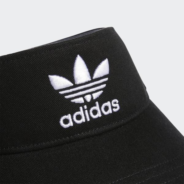 220dcf6d adidas Twill Visor - Black | adidas US