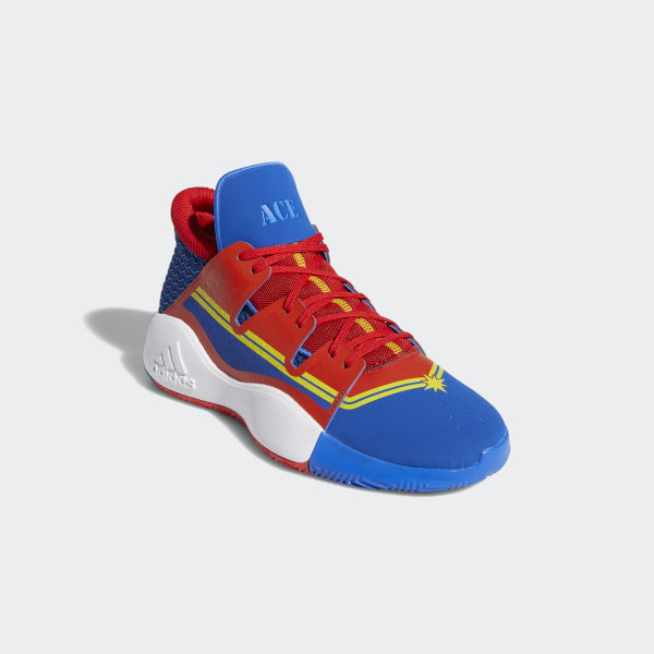 Marvel's Captain Marvel | Pro Vision Shoes Blue / Red / Bright Yellow EF2260