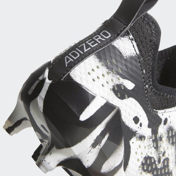 1a84f6b65 adizero Tagged Cleats Cloud White / Silver Metallic / Core Black DB0620