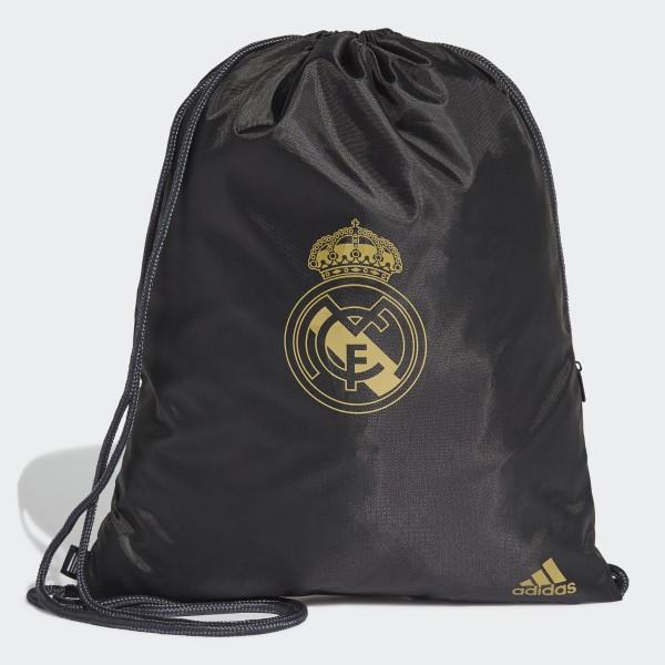 e9777e704 Real Madrid Gym Bag Black / Dark Football Gold DY7714