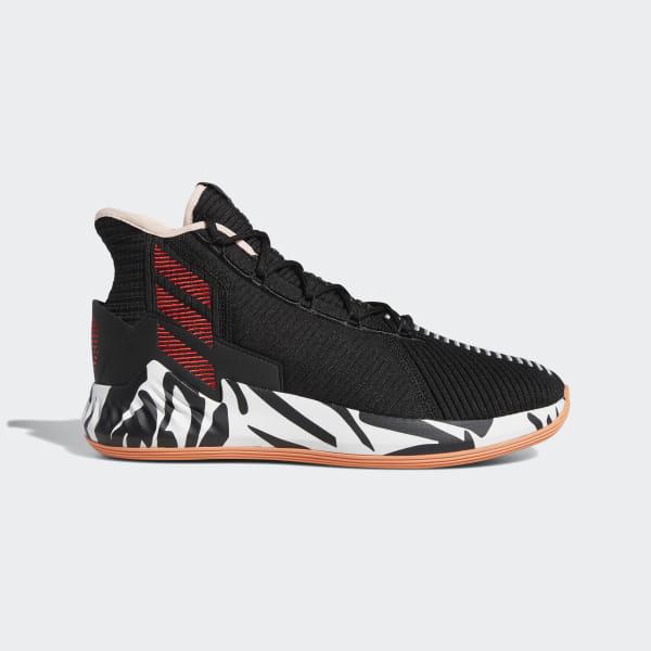 size 40 16a97 856b2 D Rose 9 Shoes Core Black   Scarlet   Ftwr White F99884