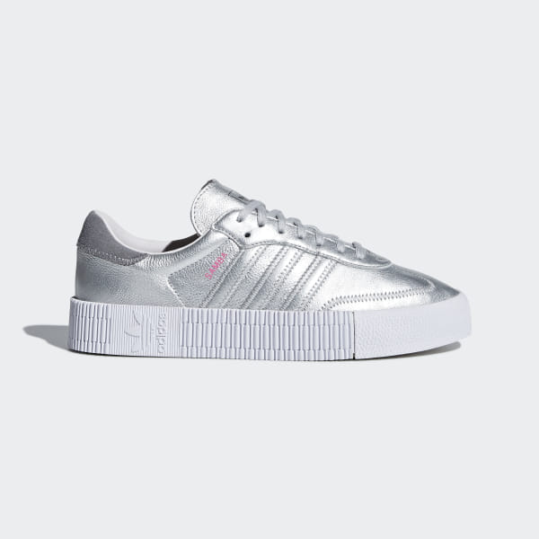 5d7247051cc adidas Samba Rose Shoes - Silver | adidas US