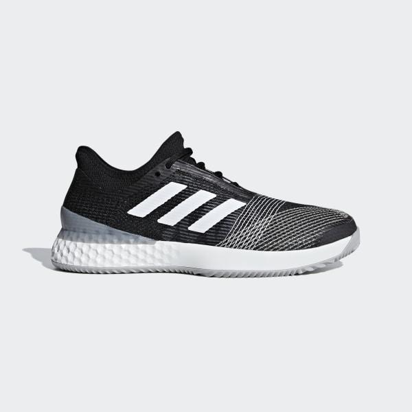 adidas Adizero Ubersonic 3.0 Clay Shoes Black | adidas UK