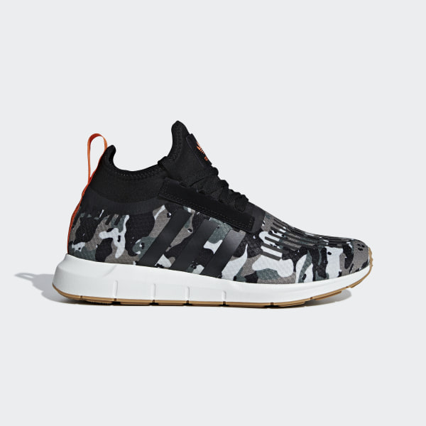 adidas Swift Run Barrier Trace Cargo Core Black Orange