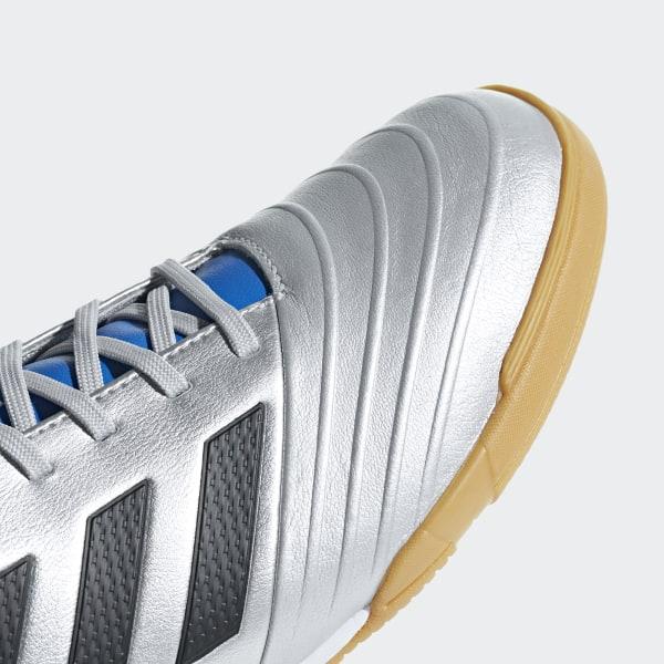 9c393f02882 Copa Tango 18.3 Indoor Boots Silver Met.   Core Black   Football Blue DB2452