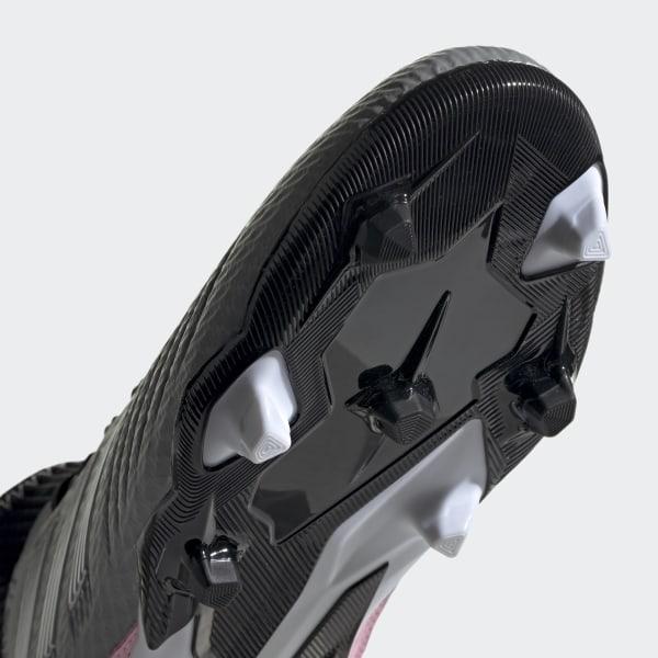 sale retailer d4c15 61aa7 Predator 19.3 Firm Ground Cleats Grey Three   Silver Metallic   Core Black  F97528