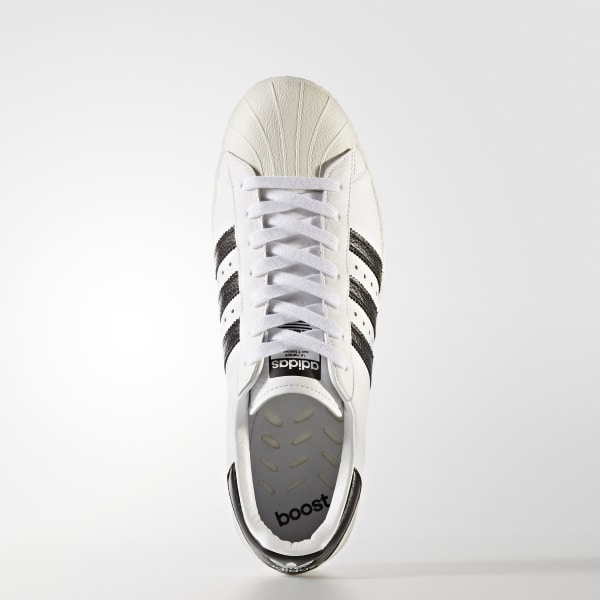 b4813cd3d6c adidas Superstar Boost Shoes - White | adidas US