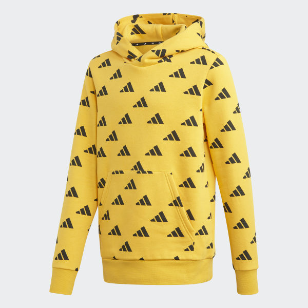 adidas sweat jaune