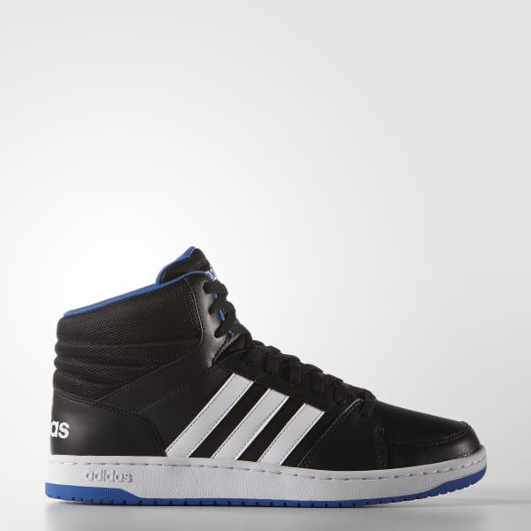 6fb9db188a39 Hoops VS Mid Shoes Core Black   Cloud White   Blue F99588